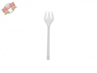 Fingerfood Mini-Gabel Gabel 10 cm klar PS (50 Stk.)
