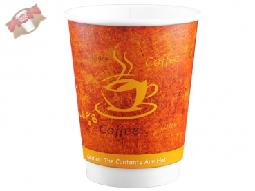Coffee to go Double Wall Cup 300 ml 12 oz (25 Stk.)